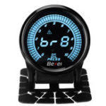New 52mm 10 Colors LED Dual Display Oil Temp Pressure Gauge Auto Oil Pressure Meter With Sensor