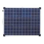 New Elfeland AFC-12018 100W 18V Aluminum Frame Folding Polycrystalline Solar Panel with Controller
