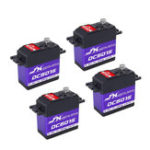 New 4PCS JX DC6015 14.32KG DC Metal Gear High Torque Standard Angle Digital Servo For RC Model Transmitter Radio