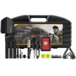 New HX OUTDOORS 7 In 1 Multifunctional Tools Kit Set Box Storage Case Emergency Survival Car Shovel Outdoor Camping