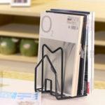 New Black/White LP Vinyl Iron Storage File Rack Stand Holder Kitchen Storage Rack for 7″/12″ LP