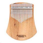 New GECKO K17CAS 17 Keys Kalimba Camphor Wood Thumb Finger Piano with Bag Set