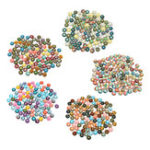 New 100Pcs/Set 12MM Round Mixed Supplies Crafted Handcrafted Tiles For Jewelry Making Decorations