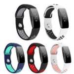 New Bakeey Double Color Belt TPU Replacement Watch Band for Fitbit Inspire / Inspire HR Smart Watch