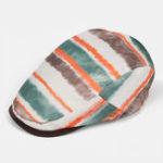 New Cool Rainbow Beret Caps Ultra-thin Breathable Sun Visor Hat