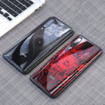 New Bakeey Luxury Shockproof Tempered Glass Soft Silicone Edge Protective Case for Xiaomi Mi9 / Mi9 Transparent Edition