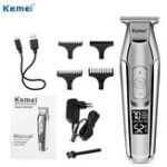New KEMEI KM-5027 Cordless Hair Clipper Beard Trimmer Electric H