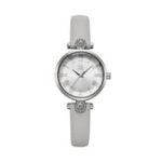 New SHENGKE SK K9009 Crystal Roman Numerals Women Quartz Watch