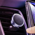 New USAMS Strong Magnetic Air Vent Car Phone Holder Car Mount For 3.5-7.0 Inch Smart Phone iPhone Samsung Huawei Xiaomi