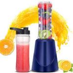 New 400ML 200W Electric Fruit Juicer Multifunction Mini Portable Home Smoothie Blender Maker