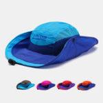 New Unisex Quick-drying Fisherman Hat Foldable Visor Hat