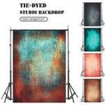 New Vintage Tie Dye Vinyl Photography Background Studio Photo Props Painted Backdrop