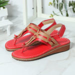 New Women Casual Fashion Clip Toe Hook Loop Sandals