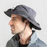 New Outdoor Mosquito Net Hat Sun Bucket Hat