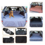 New Car Pet Trunk Mat Cover Tarpaulin Waterproof Oxford Cloth Trunk Back Seat Protector