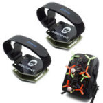 New Fishbonne DIY FPV Racing Drone Backpack Spare Part Hang Set Strap RC Tie& Mounting Plate