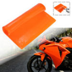 New Cool Seat Cushion Gel Pad Shock Absorption Mat Comfortable Soft Orange Motorcycle ATV Office