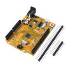 New 3pcs ATmega328P UNO R3 Development Board Improved Version Enhanced SCM Yellow Module For Arduino