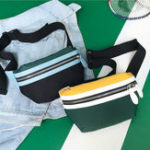New Women Canvas Waist Bag Crossbody Bag Phone Bag For Smart Phone Under 6.5 Inch iPhone XS Max Samsung Galaxy S10+