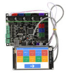 New MKS GEN L Motherboard with 3.5 Inch LCD WIFI Touch Screen Kit for 3D Printer