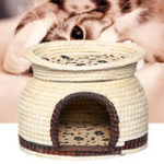New Dual Use Pet Dog Cat Soft Bed House Kennel Puppy Cushion Basket Cage Supplies