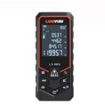 New LOMVUM 80M bluetooth Laser Distance Meter USB Rechargeable Digital Laser Rangefinder Handheld 80m Electric Leveling