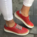 New Women Casual Hollow Out Breathable Flats