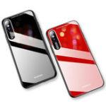 New Bakeey Shockproof Anti-scratch Tempered Glass Back Cover Protective Case for iPhone XS Max