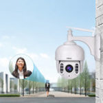 New Sricam SH028 HD 2.0MP 1080P 5X Zoom Dome IP Camera P2P Wireless Surveillance CCTV Camera 360 Degree Wifi PTZ Outdoor Waterproof