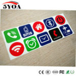 New 10pcs Ntag213 NFC Tag Card Stickers Label Rfid Tag Card Adhesive Key llaveros  Token Patrol