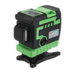 New 3D 12 Line Laser Level Green / Blue Light Auto Self Leveling 360° Rotary Measure