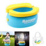 New Folding Baby Toilet Travel Baby Potty Portable Car Children's Toilet Seat Max Load 50kg