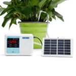 New Upgraded Solar Energy Charging Intelligent Garden Automatic Watering Device Potted Plant Drip Irrigation Water Pump Timer System