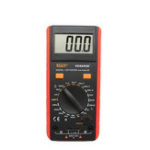 New VC6243A Digital LCD Meter Inductance Capacitance Resistance Tester Multimeter Crocodile Clip Measuring Tool with Bag BM4070