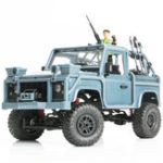 New MN Model MN96 1/12 2.4G 4WD Proportional Control Rc Car with LED Light Climbing Off-Road Truck RTR Toys Blue