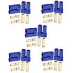New 10Set EC5 Flame Retardant Male & Female Connectors Banana Head Plug For RC Lipo Battery