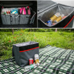 New Catch Caddy Collapsible Car Trunk Debris Storage Box Insulation Ice Package Bag