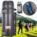 New 2000/2500ml 304 Stainless Steel Insulation Pot Outdoor Kettle Travel Sports Hiking Camping Riding Water Bottle