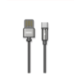 New REMAX 2.1A Type-C USB with LED Light Nylon Braided Fast Charging Data Cable for Xiaomi Mi8 Mi9 HUAWEI P30 Pro Oneplus 7 S10 S10+