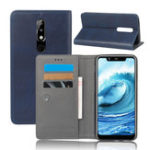 New Bakeey Luxury Magnetic Card Slot With Stand Flip PU Leather Case Protective Case For Nokia X5