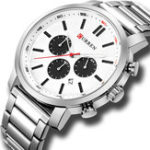 New CURREN 8315 Chronograph Waterproof Quartz Watch