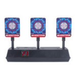 New Auto-Reset Electric Scoring Shooting Target with Light and Sound Scoring Practice Target for Nerf Tool