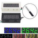 New 0.56 Inch 33V/200V 3-in-1 Time + Temperature + Voltage Display DC7-30V Voltmeter Electronic Watch Clock Digital Tube