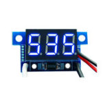New 3pcs Blue Light Mini 0.36 Inch DC Current Meter DC0-999mA 4-30V Digital Display With Reverse Connection Protection Ammeter