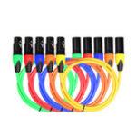 New REXLIS Five-Color Suit Canon Audio Cable / Six-Color Suit Canon Audio Cable 1m 1.8m for Microphone Mixer Amplifier Stage Light