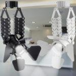 New Ceiling Spotlight Track Retractable Pendant Light Loft Industrial Retro LED