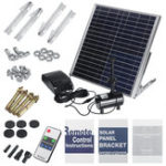 New Solar Fountain 15W Double Pump Power Storage Remote Control Pond Solar Submersible Water Pump Fountain