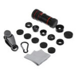 New LIGINN L-8X701 Telephoto Macro Fisheye Kaleidoscope CPL Lens for Smartphone Photography