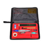 New Jinsihou Art Math Drawing Tool Set Compasses Triangle Ruler Pencils Cutter Office School Supplies with Cloth Bag/Plastic Box