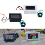 New AC Three-phase 500V 100A LED Dual Display AC Voltmeter Current Meter Digital Display